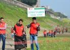 """江津""""河小青""""青年志愿者服务队定制的环保活动马甲"""